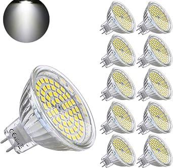 4 W MR16 GU5.3 DEL Ampoules Blanc Froid 6000K 6-Pack GU5.3,