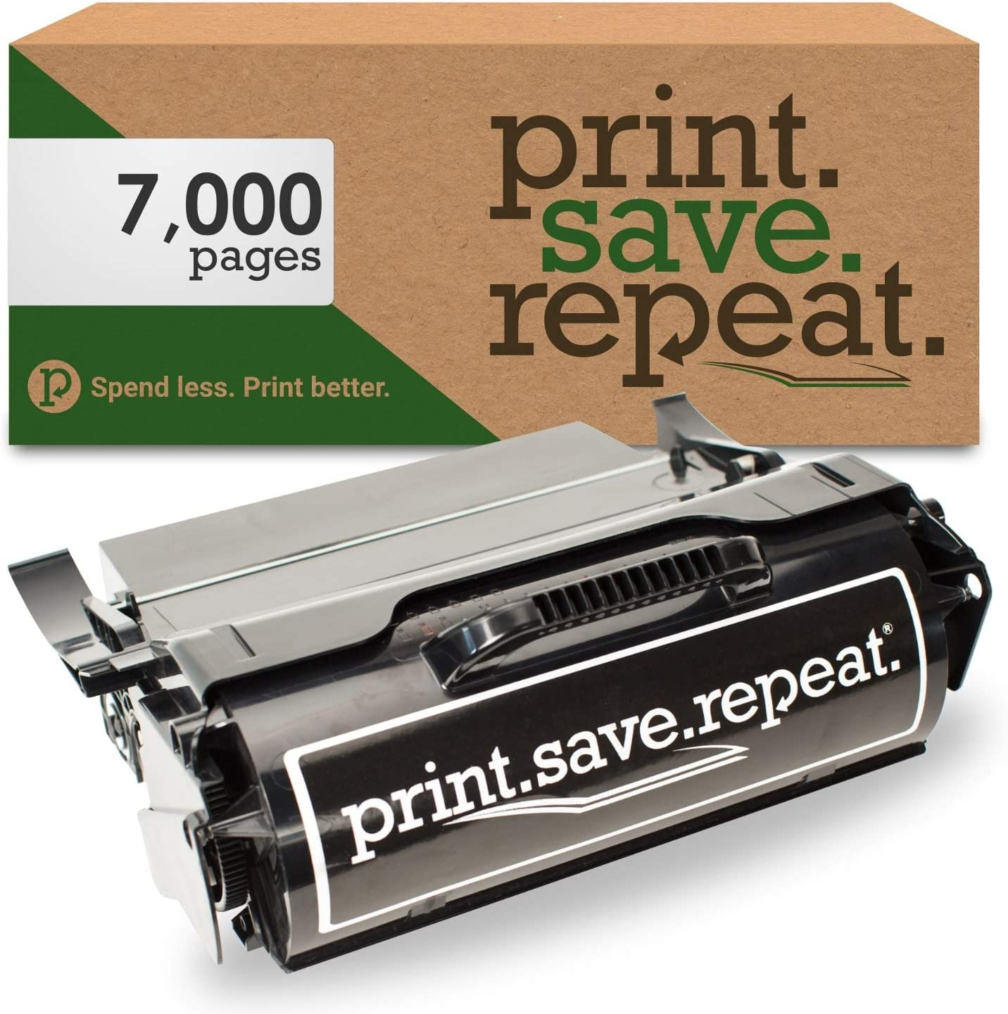 X652 7,000 Pages X654 X656 Lexmark X651A11A Remanufactured Toner Cartridge for X651 Print.Save.Repeat X658