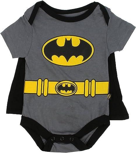 Batman DC Comics Baby Boys Creeper with Cape