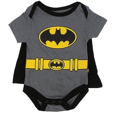 """66ac59d64 Batman Infant Baby Boys """"Creeper Onesie Bodysuit Snapsuit"""" ..."""
