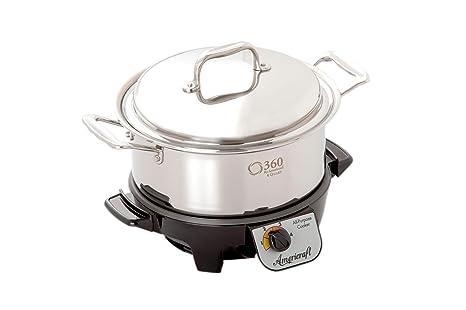 Amazon.com: 360 Utensilios de cocina olla de cocción lenta ...