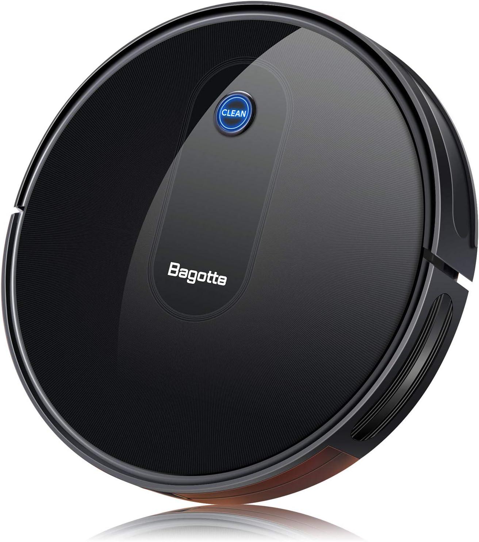 Bagotte Robot Vacuum, [2019 Upgrade] Robotic Vacuum Cleaner