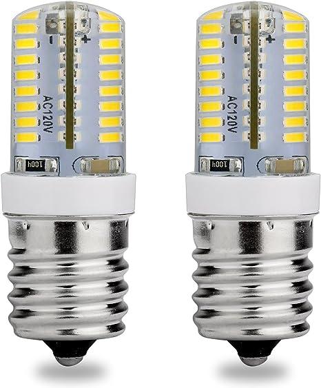 Amazon.com: E17 LED foco, 120 V AC, luz de día blanco 6000 K ...