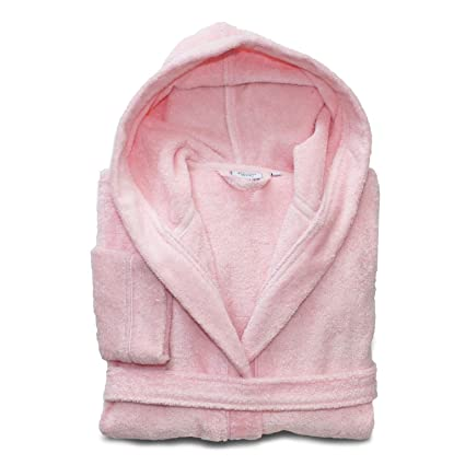 Image Unavailable. Image not available for. Color  Linum Kids Luxury Children s  Hooded Bathrobe 100% Premium Turkish Terry Cotton ... aa534d5a2