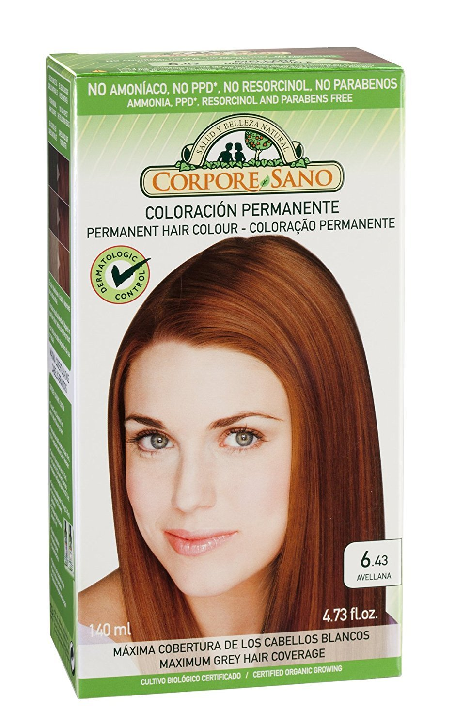 Amazon Corpore Sano Permanent Hair Color Dyedoes Not Contain