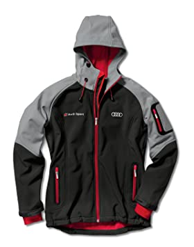 a5021a787552 Audi 3131201602 Original Ladies Softshell Jacket, Grey, Small ...