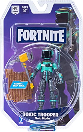 Toy Partner Figura FORTNITE Toxic Trooper 10 CM, Serie 2 Incluye 1 Accesorio, EN Blister, Multicolor (FNT0075): Amazon.es: Juguetes y juegos