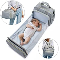 LOVEVOOK Diaper Bag Backpack with Travel Bassinet