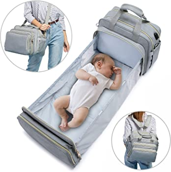 Lovevook Diaper Portable Baby Bed with Travel Bassinet