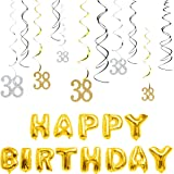 Amazon Com Happy Birthday 89cm Party Banner With Bubble Writing