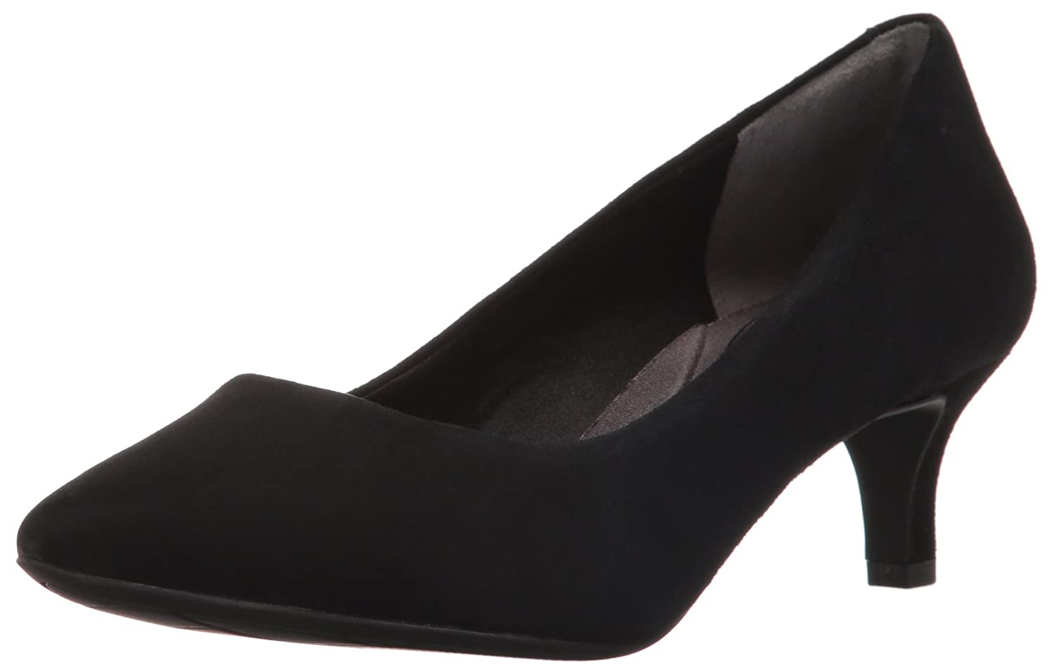 Rockport Women's Total Motion Kalila Dress Pump B01ABRZSGC 9.5 W US|Black Kid Suede