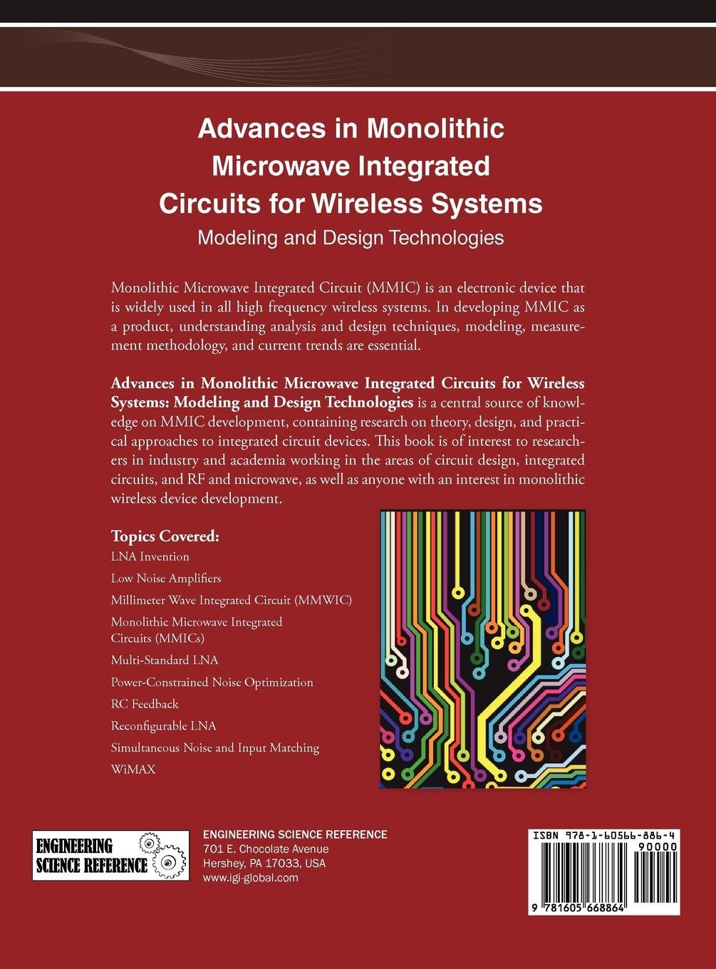 Buy Advances In Monolithic Microwave Integrated Circuits For Electronic Circuit Design Topics Wireless Systems Modeling And Technologies 1 Book Online At Low Prices India