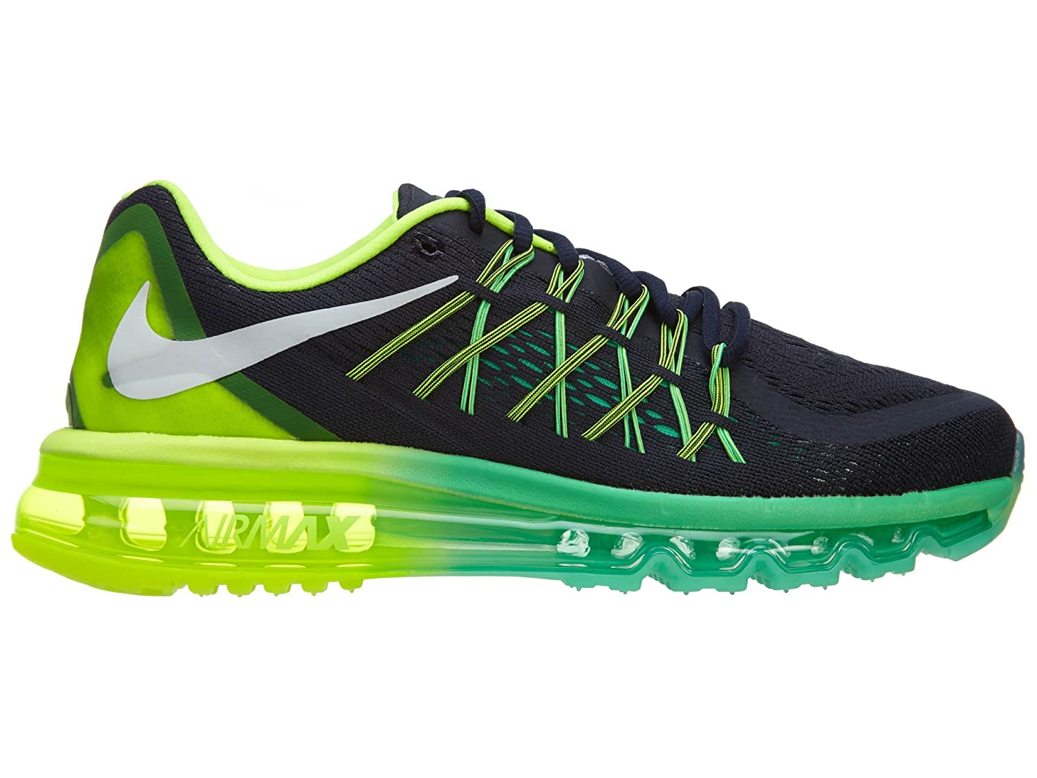 Nike Women s Wmns Air Max 2015 DARK OBSIDIAN WHITE-VOLT-MENTA DARK OBSIDIAN/ WHITE-VOLT-MENTA 7.5 B(M) US: Amazon.in: Sports, Fitness & Outdoors