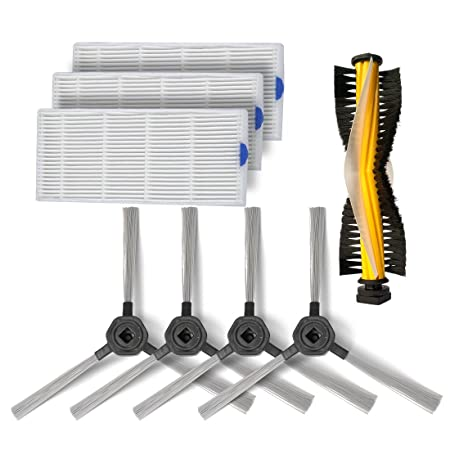 Consumibles Accesorios conjunto para Dibea D960 Robot Aspirador,3 ...