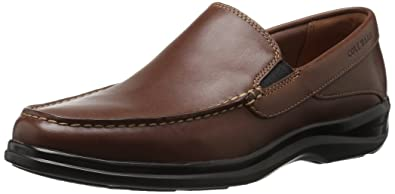 06ee5f8d4dc Cole Haan Men s Santa Barbara Twin Gore II Loafer Harvest Brown Leather 7  Medium US
