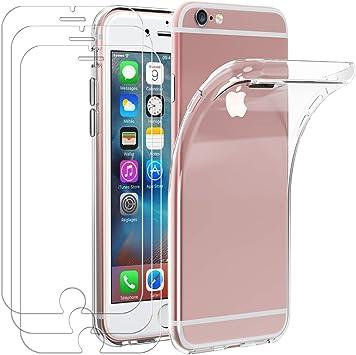 Custodia iPhone 6 / 6s + Pellicola Protettiva in Vetro Temperato