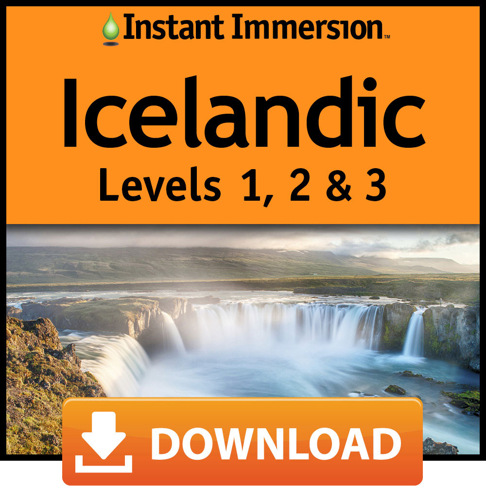 Instant Immersion Icelandic Levels 1  2   3  Online Code