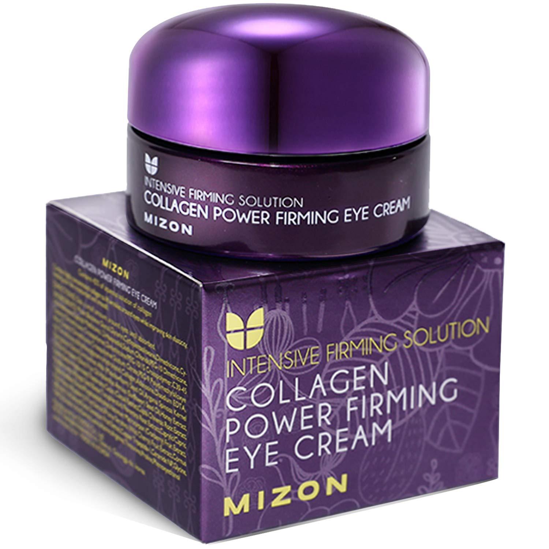 Mizon Collagen Power Firming Eye Cream, with Hyaluronic Acid for Wrinkle Care, Skin Nourished, Moisturizing, Skin Elasticity (25ml, 0.85 fl oz)