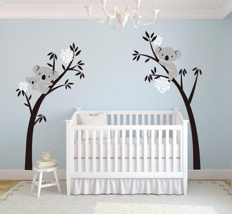 Malerisch Wandsticker Baum Foto Von Bdecoll Wandtattoo Baum/koala-baum-wandsticker/baum Cartoon Tiere Koala Wandaufkleber/babyzimmer