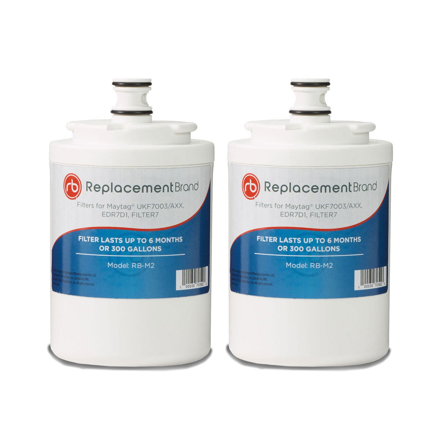 Maytag UKF7003 EDR7D1 Comparable Refrigerator Water Filter 2 Pack
