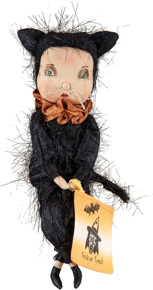 GII Adeline Cat Girl Joe Spencer Gathered Traditions Art Doll Black