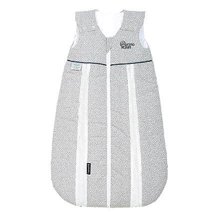Odenwälder Prima Klima Saco de abrigo para bebé con aislamiento térmico plateado plata Talla:90