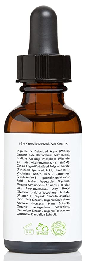 Vitamina C Serum - Suero para el rostro con 20% de Vitamina C con Ácido Hialurónico y Vitamina E - 30 ml: Amazon.es: Belleza