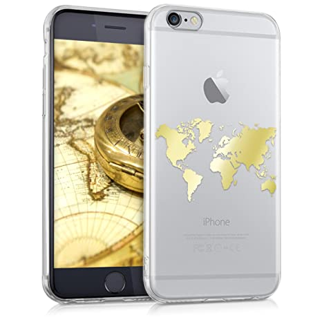 custodia iphone 6 mappamondo