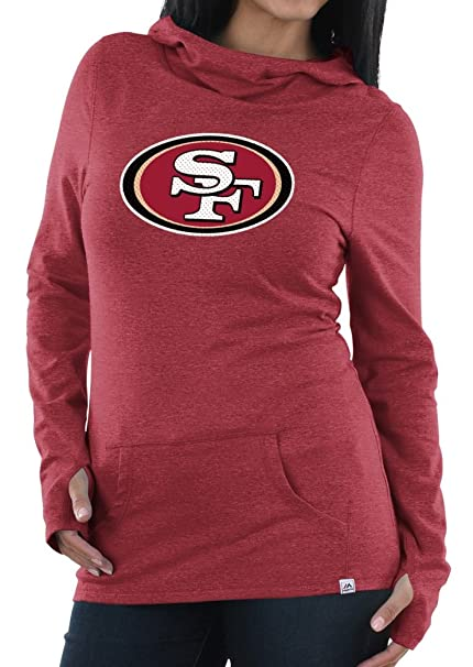 cde5397b Amazon.com : Majestic San Francisco 49ers Women's NFL Great Play ...
