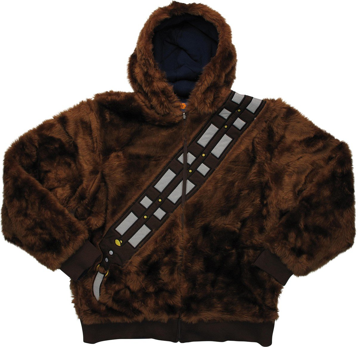 Star Wars Chewbacca Han Solo Reversible Hoodie X-Large by Philcos (Image #1)