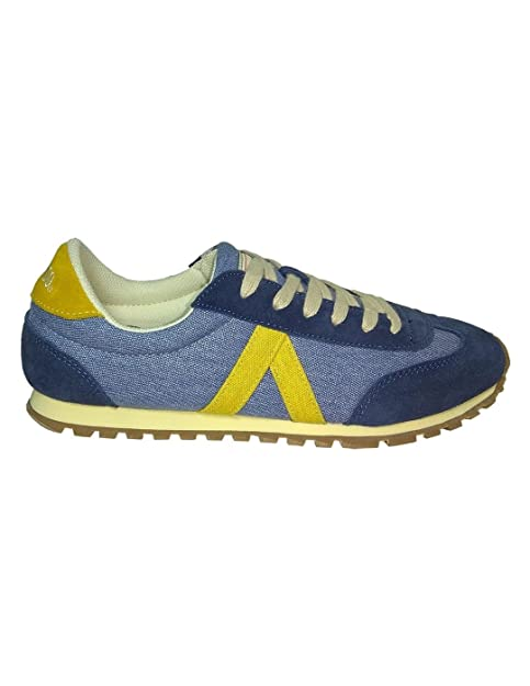El Ganso Zapatillas RWALKING Washed Azul 45: Amazon.es: Zapatos y complementos