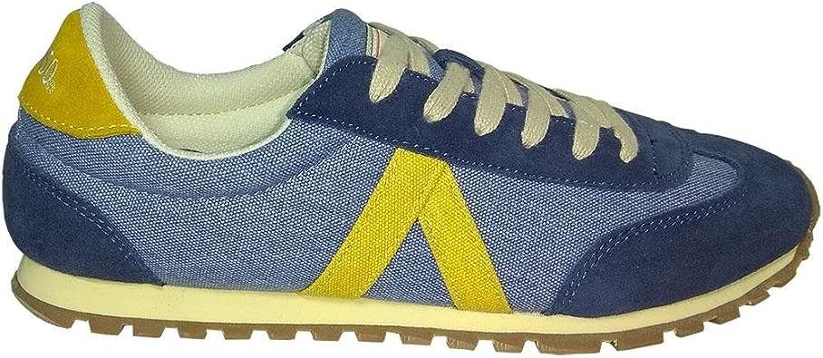 Zapatillas EL GANSO RWALKING Washed Azul 45: Amazon.es: Zapatos y ...