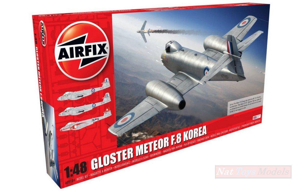 NEWAM AIRFIX AX9184 GLOSTER GLOSTER GLOSTER Meteor F8 KIT 1 48 MODELLINO Model b5e29d