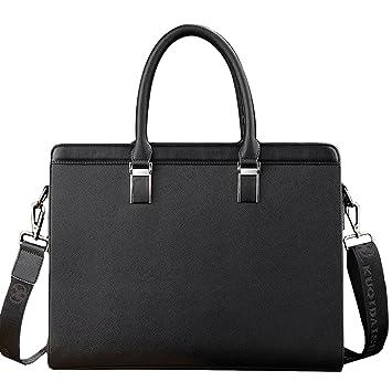 798542a3c6 Amazon.com  YEX Men Briefcase PU Leather Handbag Crossbody Shoulder Bag 14  Inch Laptop Tote Business Bag for Men  FashionLifeCN