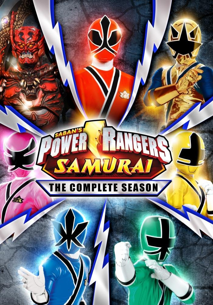 Amazon.com: Power Ranger Samurai - The Complete Series: Alex ...
