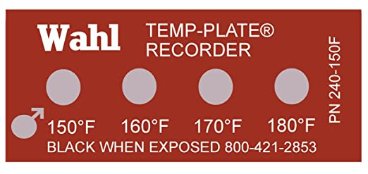 amazon com wahl 240 150f mylar standard four position temp plate