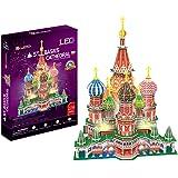 3D Puzzle St. Basils Cathedral LED Moskau Basilius Kathedrale Licht Light
