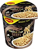 Maggi Magic Asia Noodle Cups Beef, 8er Pack (8 x 63 g)