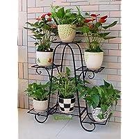 Green Gardenia Iron Plant Stand/Pot Stand