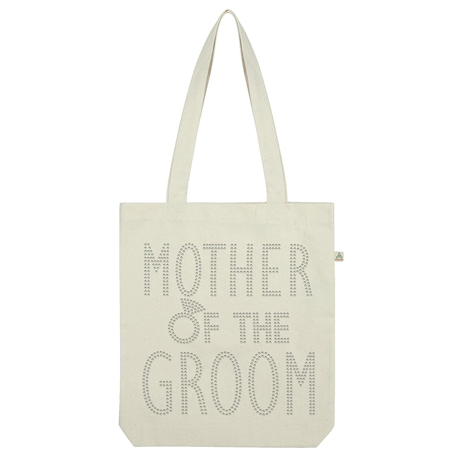 Twisted Envy Mother Of The Groomラインストーントートバッグ ホワイト TOTEBAG-MD24950-WHT B01ITFSDYC  ホワイト