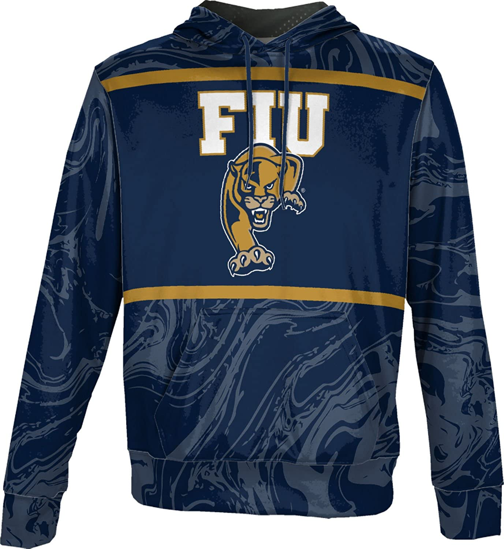 ProSphere Florida International University Mens Pullover Hoodie School Spirit Sweatshirt Ripple