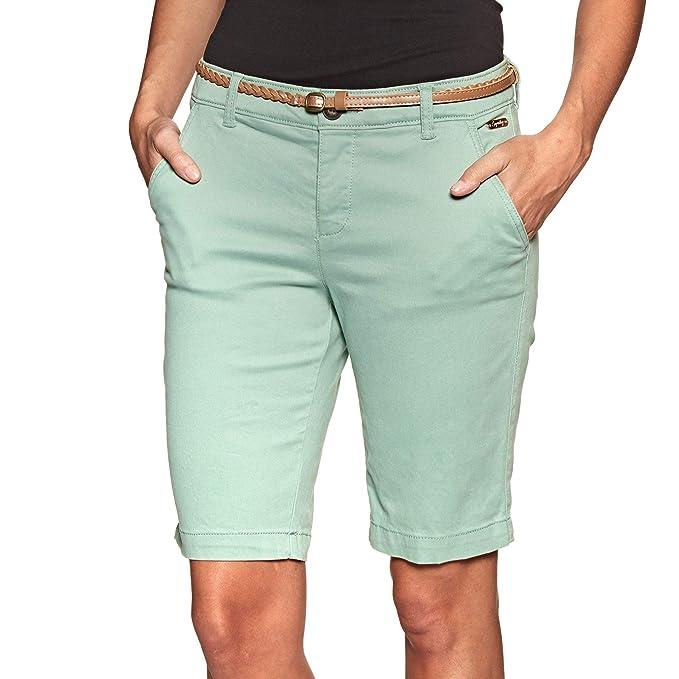 ff7079abc694 Superdry Bermuda Chino City Verde Mujer: Amazon.es: Ropa y accesorios