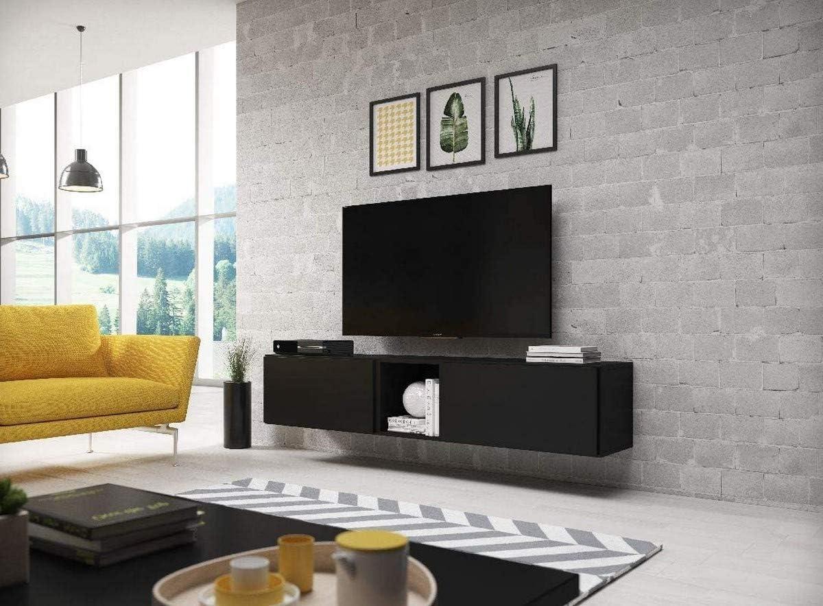 Chloédesign Coro 10 Mueble para televisor, Tablero DM, Negro, Talla única: Amazon.es: Juguetes y juegos