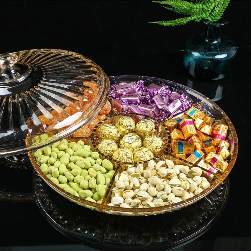 Corbeille de fruits Plateau de fruits en verre fruits secs SAUVEGARDEZ bonbons Salon acrylique Bonbonni/ère avec couvercle fruits Assiette de fruits snack Plateau