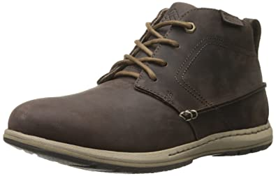 Columbia Men's Davenport Chukka Casual Shoe, Cordovan/Prairie Sand, ...