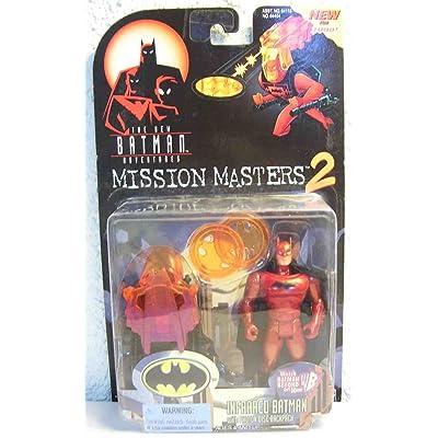 Batman: The New Batman Adventures Mission Masters 2 > Infrared Batman Action Figure: Toys & Games