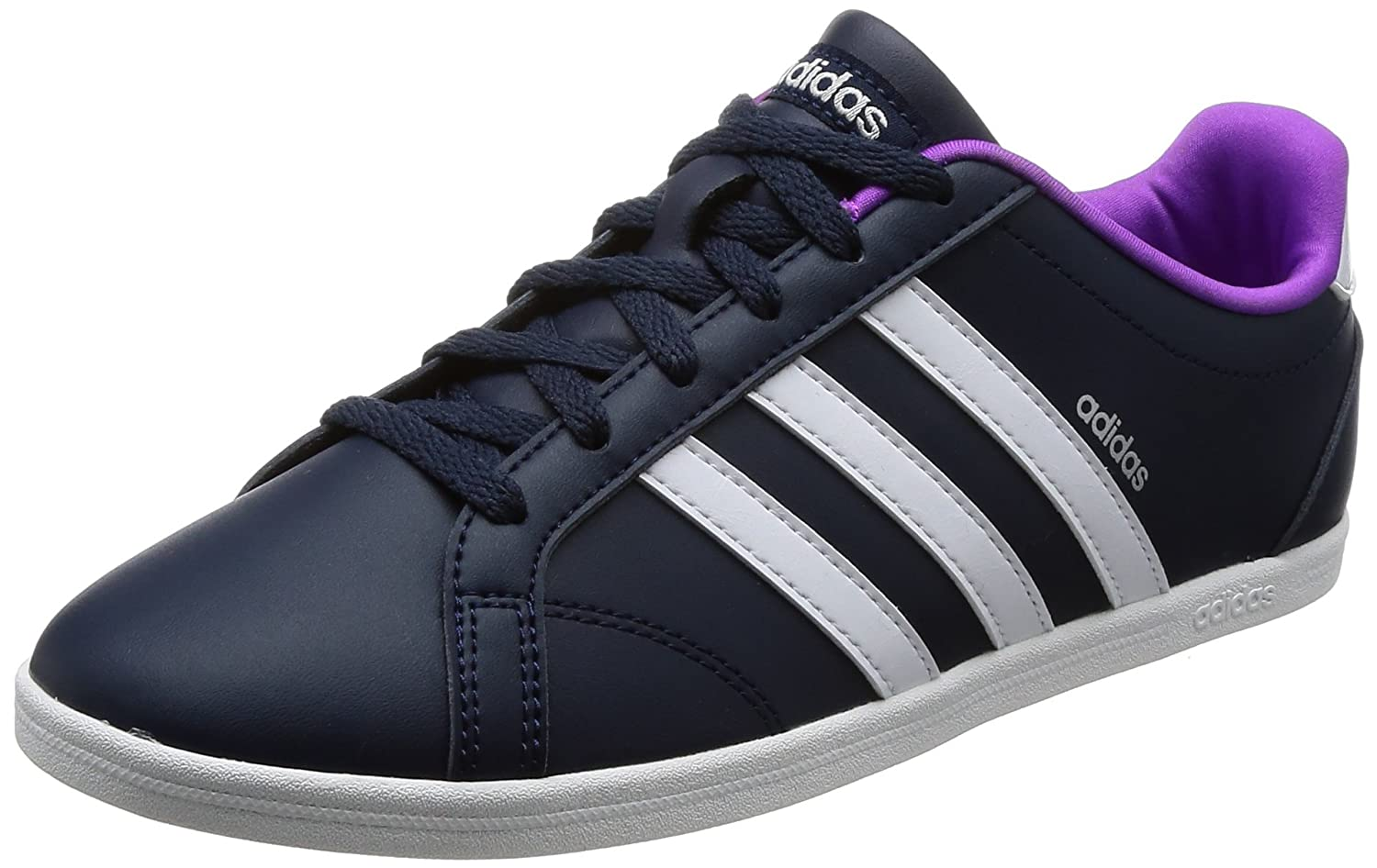 Amazon.com   adidas VS Coneo QT W Ladies Footwear DunkelBlue Womens  Trainers Sneaker Shoes   Fashion Sneakers afdf9ed30f