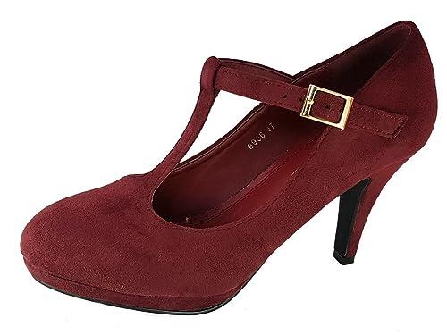 TG.41 FIND Scarpe con Cinturino alla Caviglia Donna