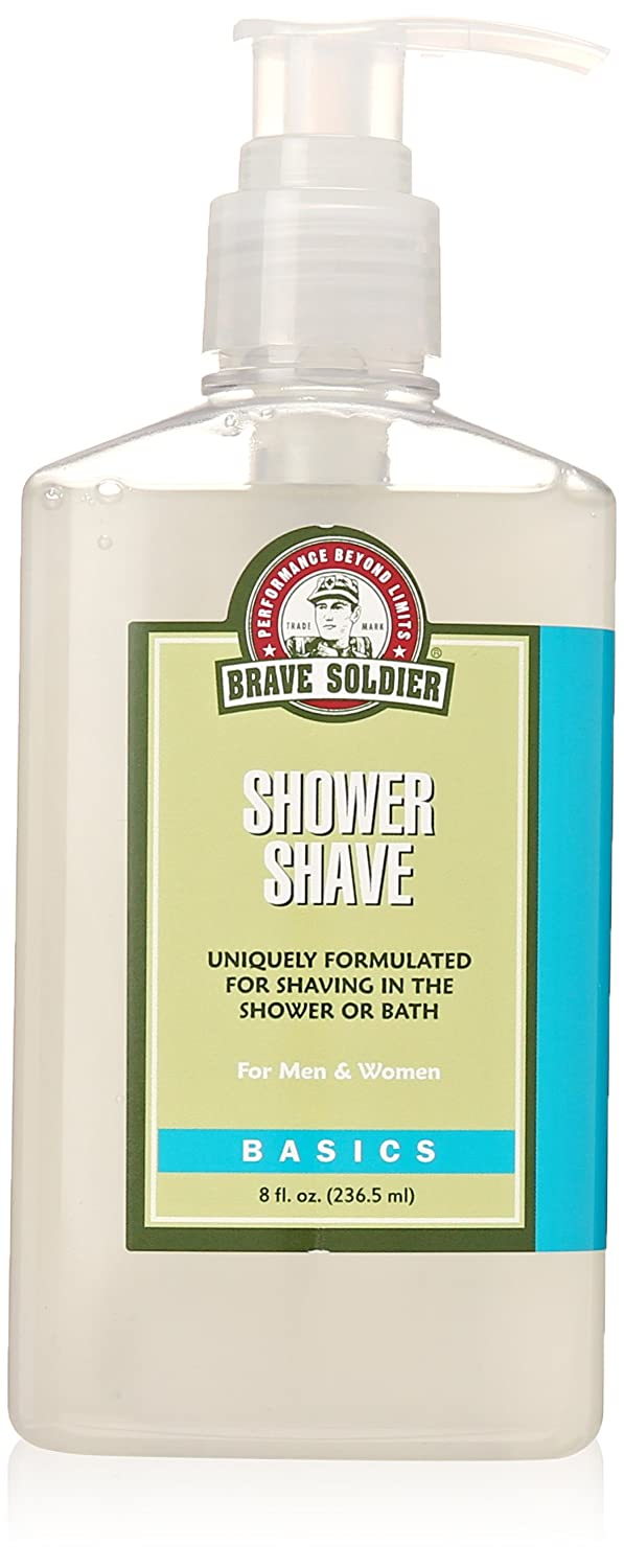 Brave Soldier Shower Shaving Lotion, 8-Ounce 4737