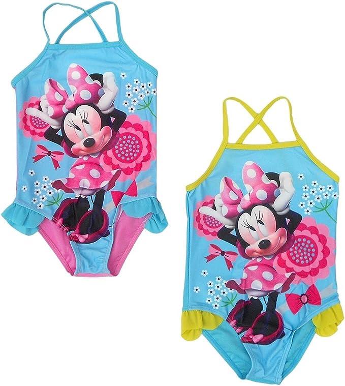 Minnie Arditex wd9292 Mouse bañador 2 A 6 Años poliéster Azul 40 x ...
